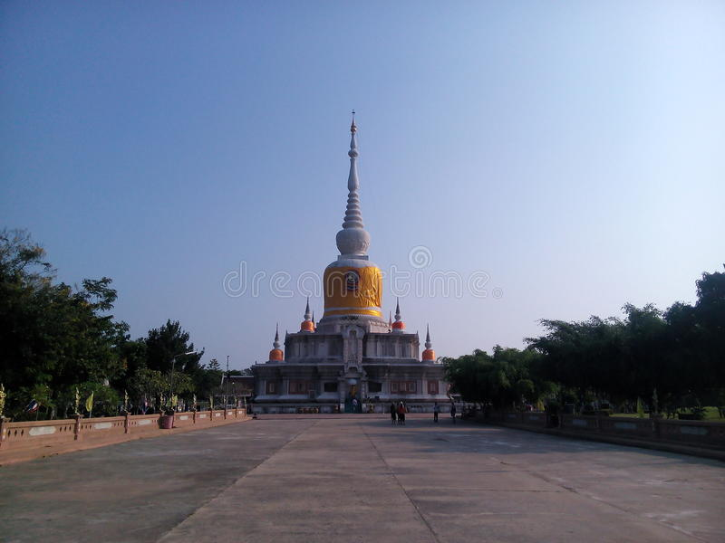 Na Dun relics. Tourism Holy Places faith anchor respect worship the Wednesday location Industry Optical Sculpture architecture historic site amazing Thailand royalty free stock photos