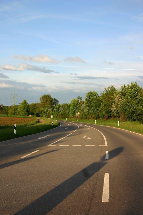 Na estrada imagens de stock royalty free