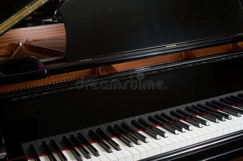 na fortepianie fotografia royalty free