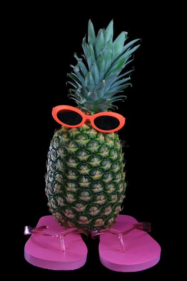 na głupie ananasowy obraz stock