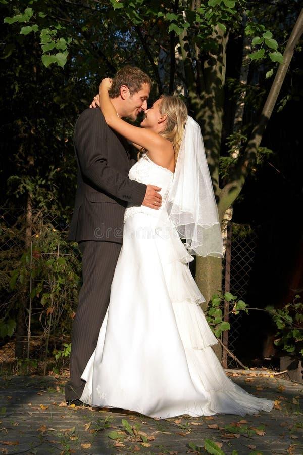 Na huwelijk stock afbeelding