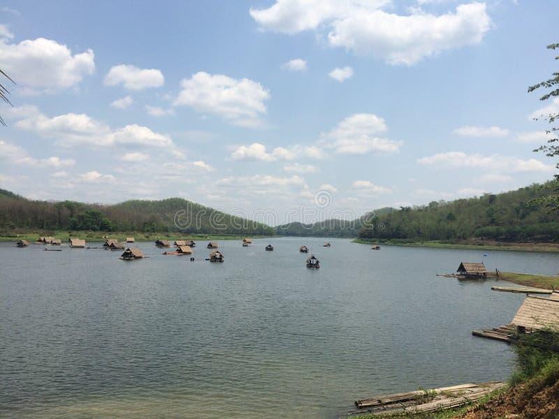 Na jeziorze zdjęcie royalty free