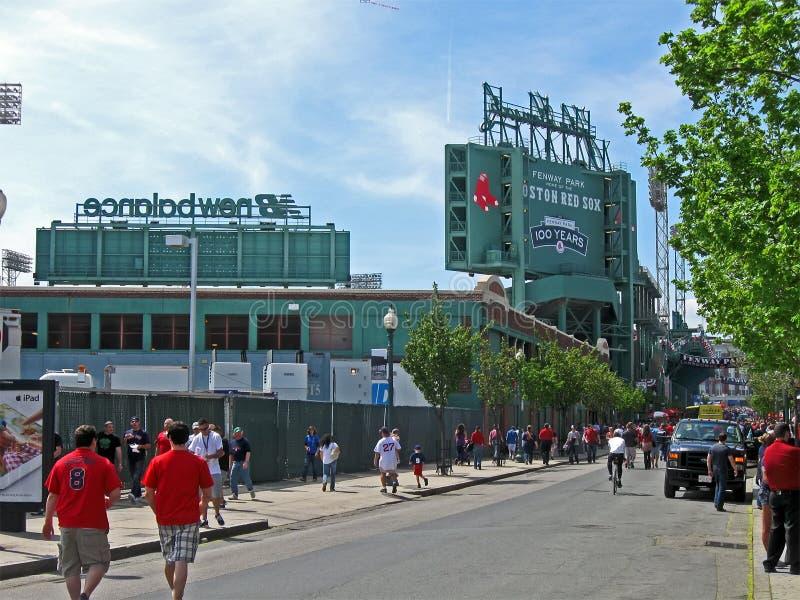 Na Kwiecień Fenway Park 20, 2012 w Boston, USA, zdjęcia stock