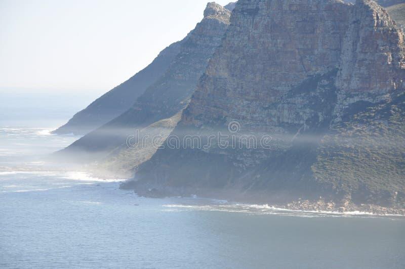 Na maneira a Capetown fotografia de stock