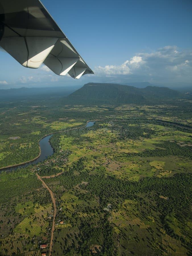 Na maneira a Laos imagem de stock royalty free