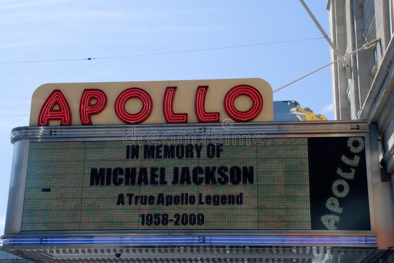 Na memória de Michael Jackson fotos de stock