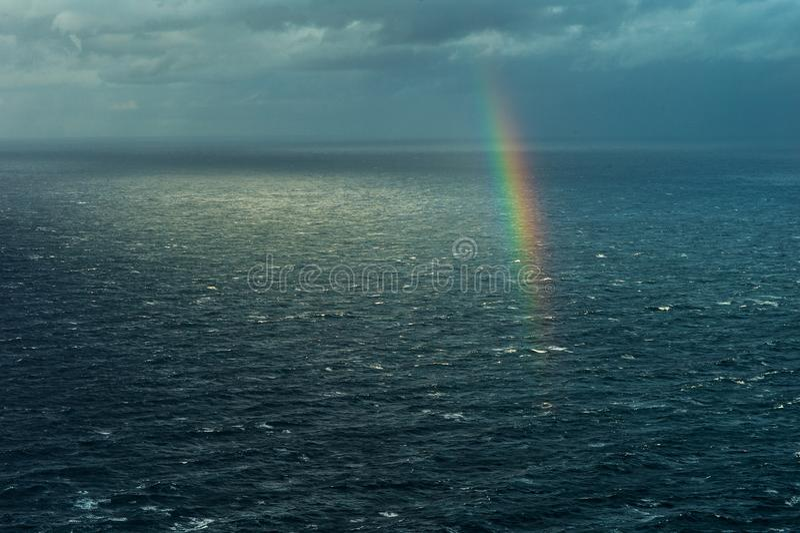 na morzu tęczy zdjęcie royalty free