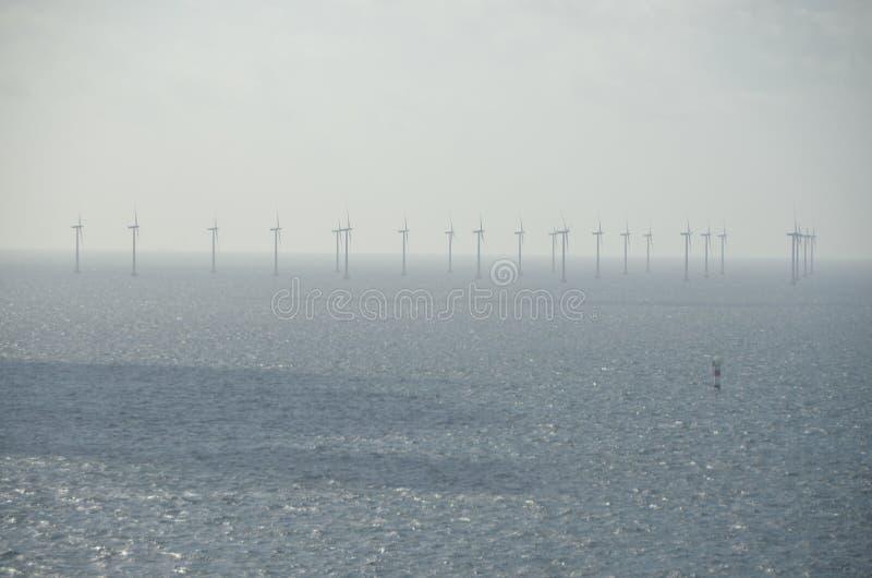 Na morzu wiatr zdjęcia stock