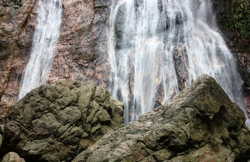 Na Muang Falls, Koh Samui, Thailand stock photo