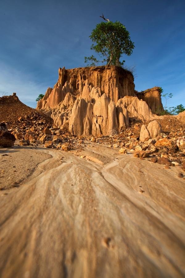 NA Noi Σάο DIN στο εθνικό πάρκο γιαγιάδων Sri, επαρχία γιαγιάδων, Ταϊλάνδη στοκ εικόνες με δικαίωμα ελεύθερης χρήσης