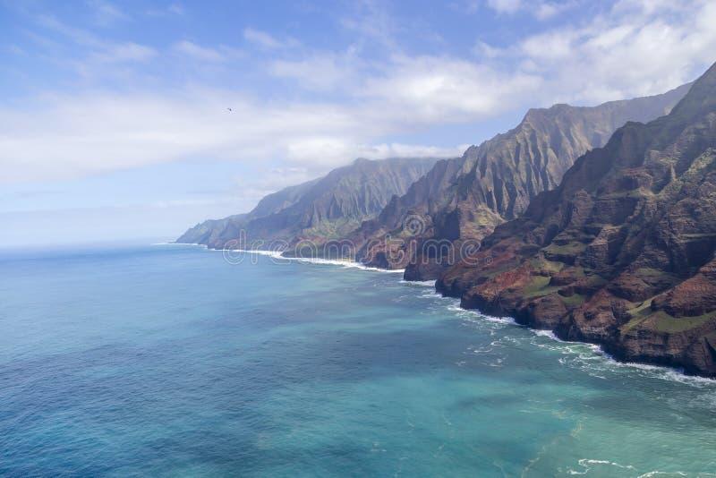 Na-` Pali-Küste von Kauai, Hawaii lizenzfreie stockfotografie