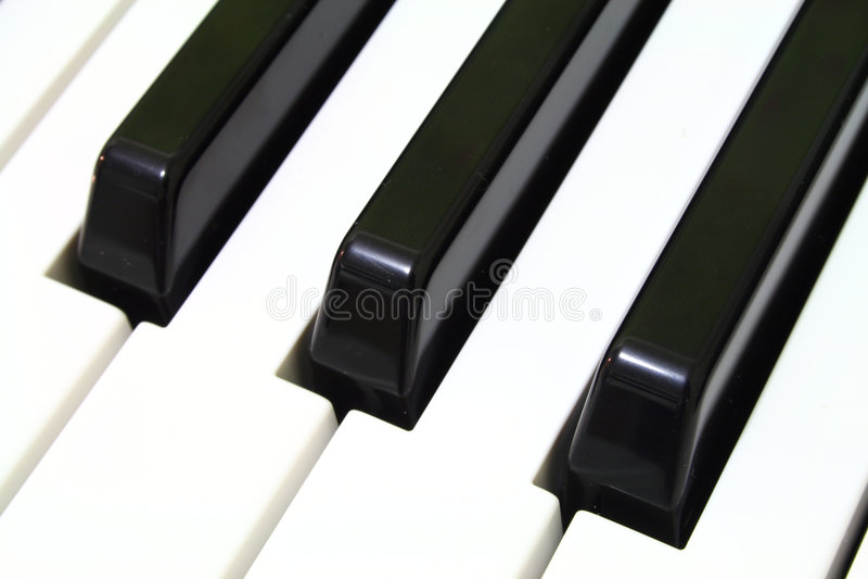 - na pianinie fotografia royalty free