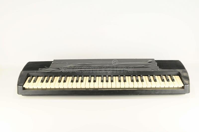 - na pianinie, blisko zdjęcia royalty free