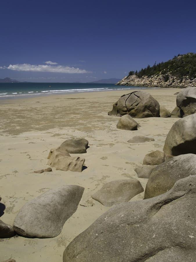 na plaży 2 magnetyczny fotografia royalty free