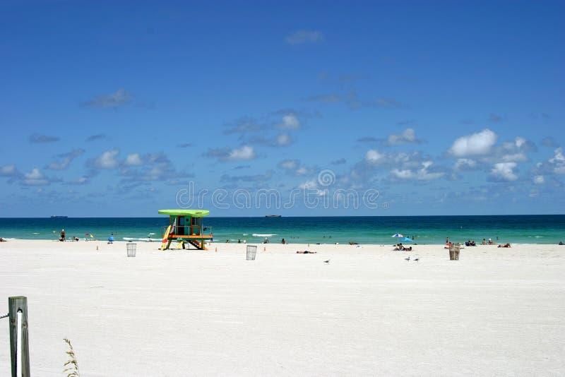 na plaży 2 południa fotografia stock