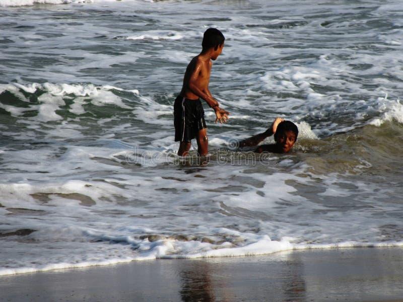 Na plaży Nilaveli, Sri Lanka/ obraz royalty free
