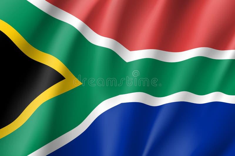 na południe od stylu afryce dostępny szklany bandery wektora ilustracji