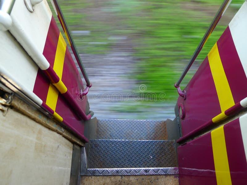 Na pociągu zdjęcie royalty free