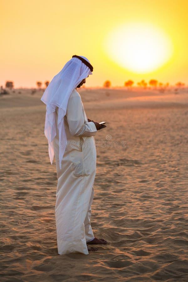 na pustyni? arabsk? zdjęcie royalty free