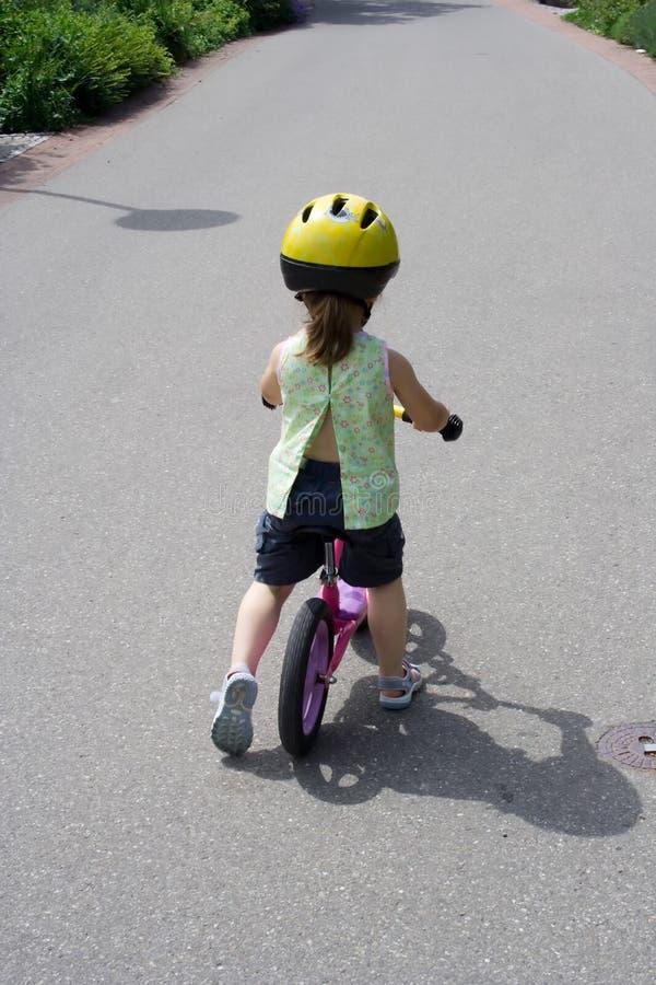 Na rowerze fotografia stock