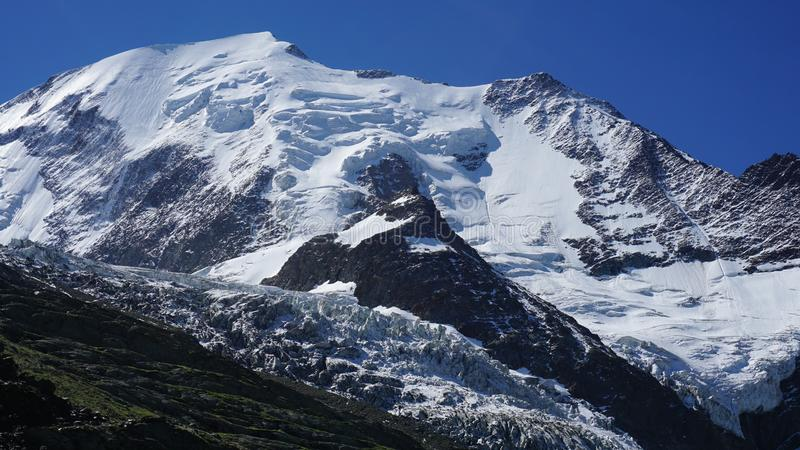 Na sposobie Mont puste miejsce, Francja, Europa zdjęcie stock