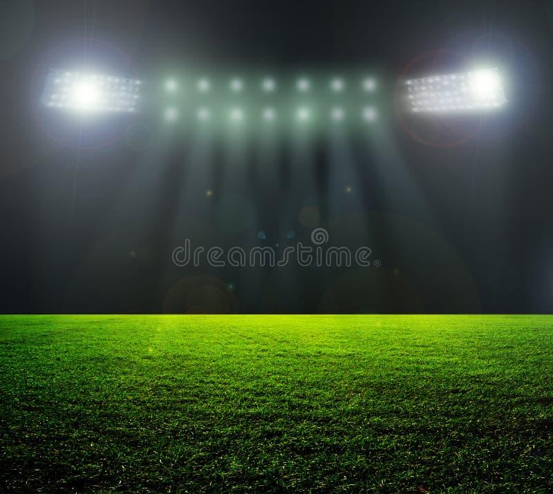 Na stadium. obraz stock