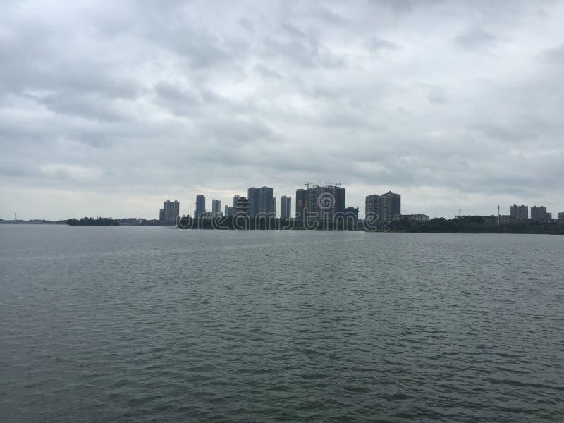 Na statku wycieczkowym w Wuhan, Hubei, Chiny obraz royalty free