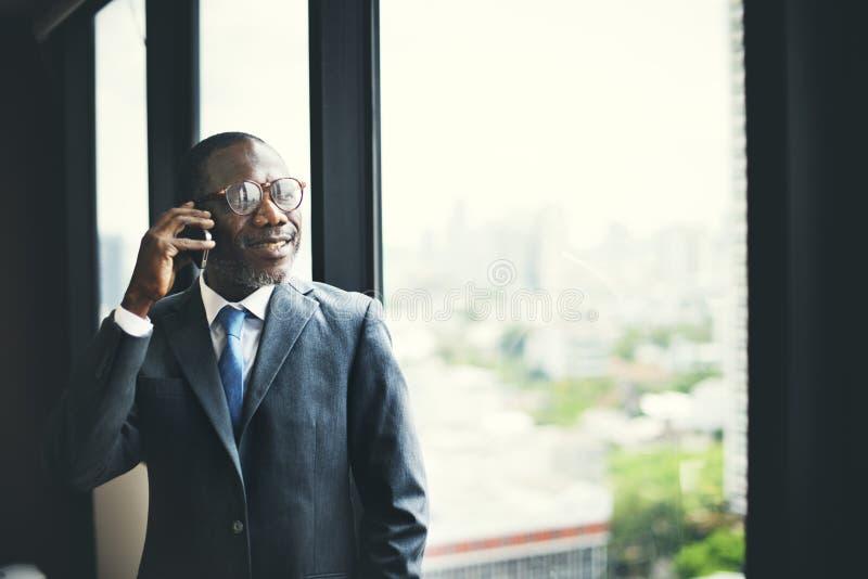 Na telefonie Telemcommunication Dzwoni ruchliwości pojęcie zdjęcie royalty free