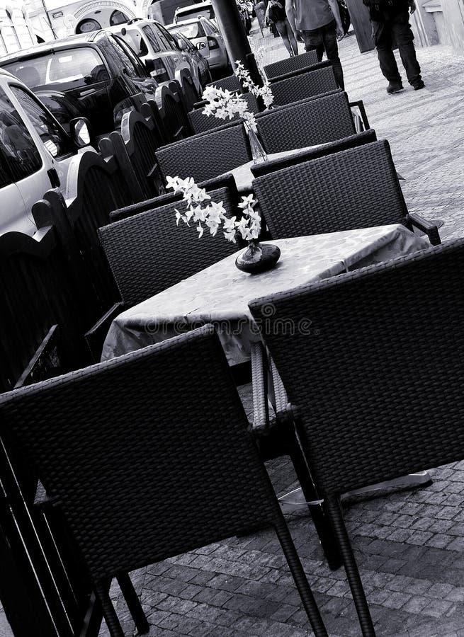 na terenach odkrytych siedzenia fotografia royalty free