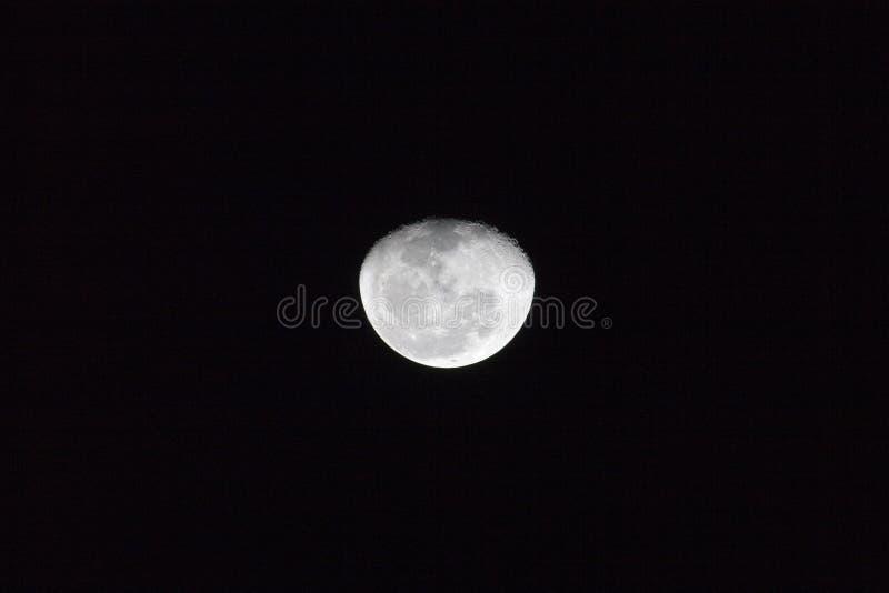 Na volle maan royalty-vrije stock afbeelding