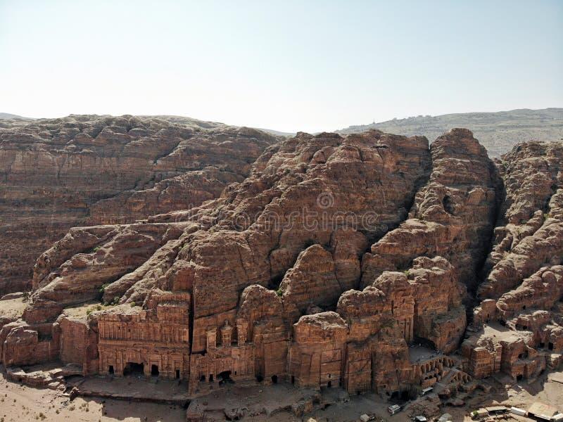 na widok Jeden znacząco antyczny miasto w świacie Unesco światowe dziedzictwo istna perła wszystkie środkowy wschód - zdjęcie stock