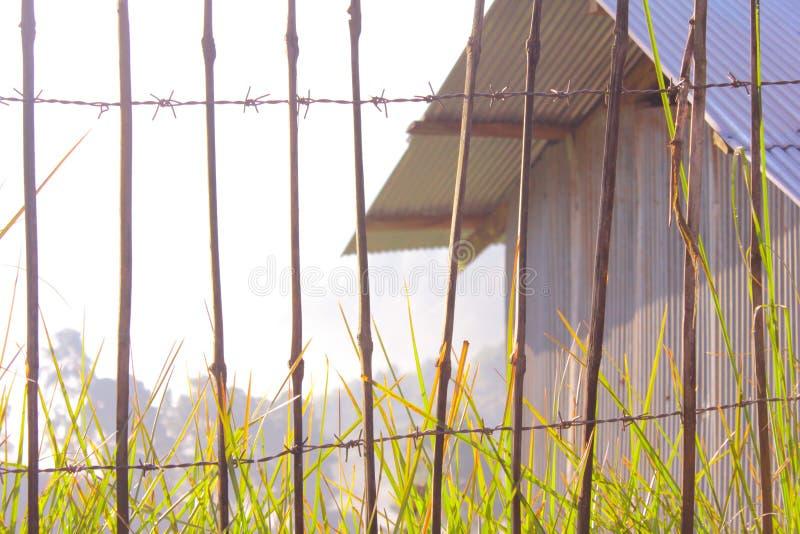 Na zewnątrz bramy zdjęcie royalty free