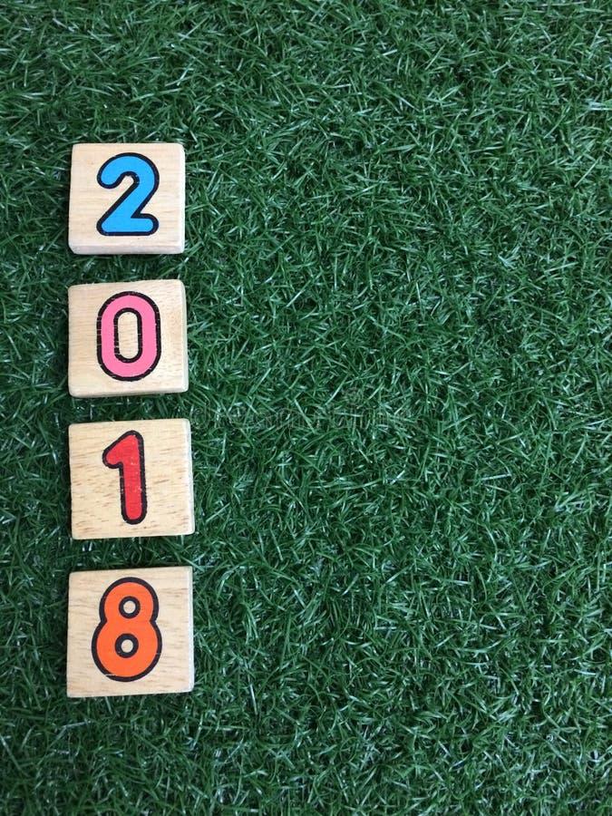 2018 na zielonej trawie zdjęcia royalty free