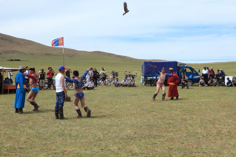 Naadam Festival Mongolia stock photography