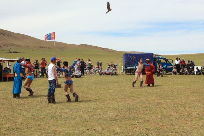 Naadam Festival Mongolia stock image