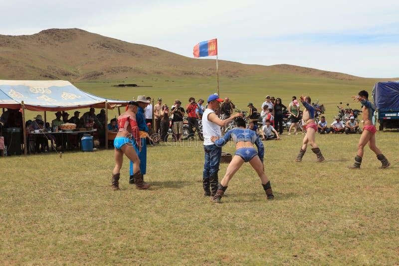 Naadam Festival Mongolia royalty free stock photo