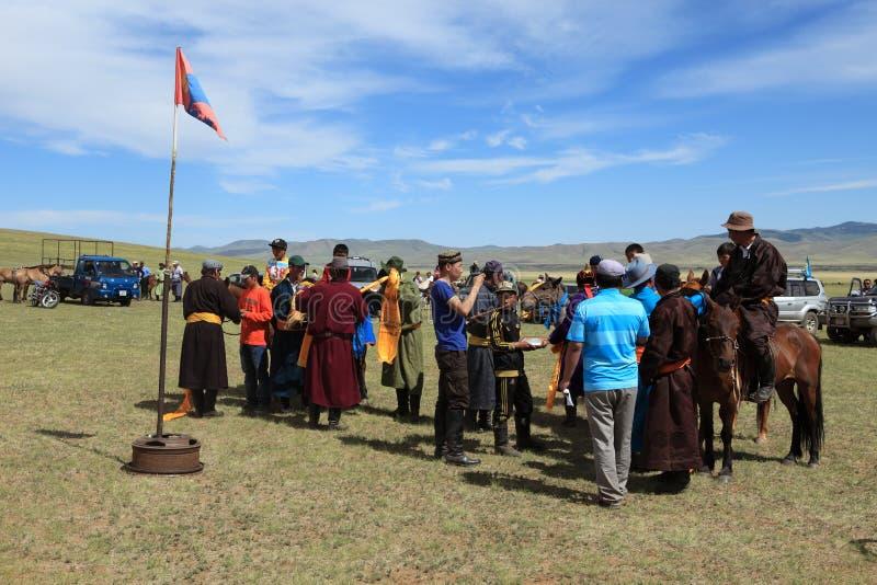 Naadam Festival Mongolia royalty free stock image