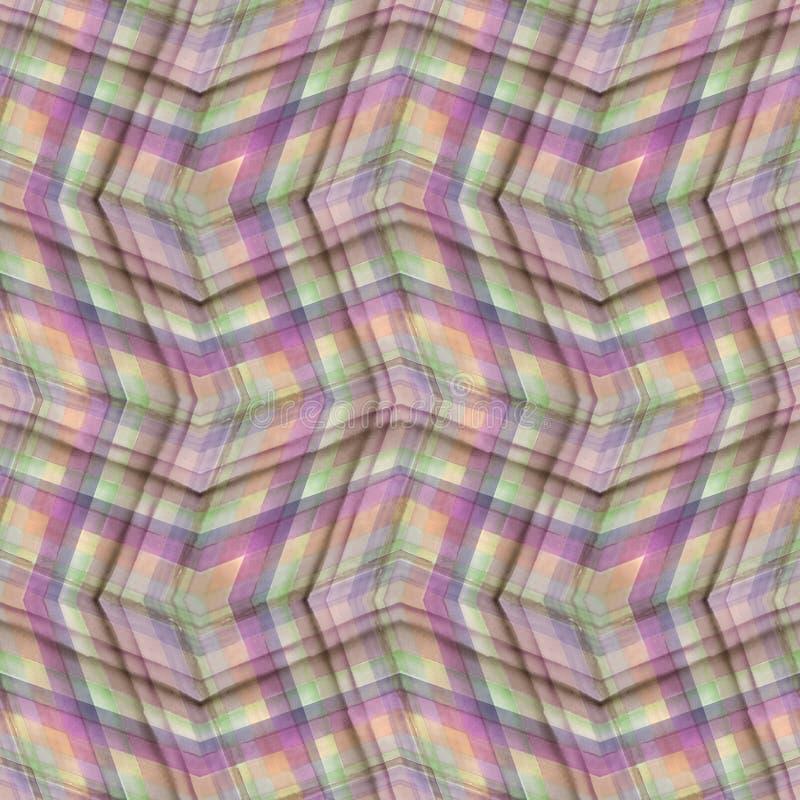 Naadloos abstract geometrisch patroon stock illustratie