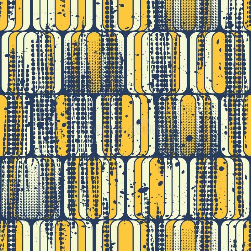 Naadloos abstract geometrisch patroon vector illustratie