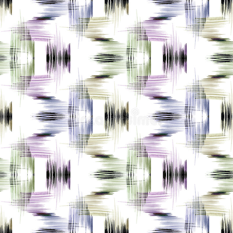 Naadloos abstract geometrisch patroon royalty-vrije illustratie