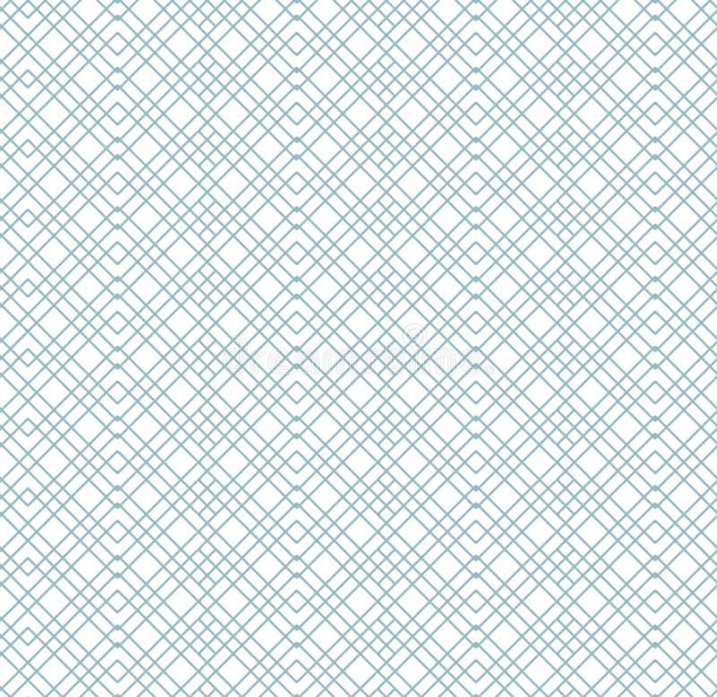 Naadloos abstract kleurrijk gestreept patroon Het eindeloze patroon kan voor keramische tegel, behang, linoleum, textiel worden g royalty-vrije illustratie
