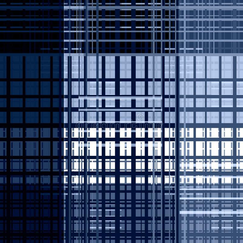 Naadloos abstract modern geometrisch patroon royalty-vrije illustratie