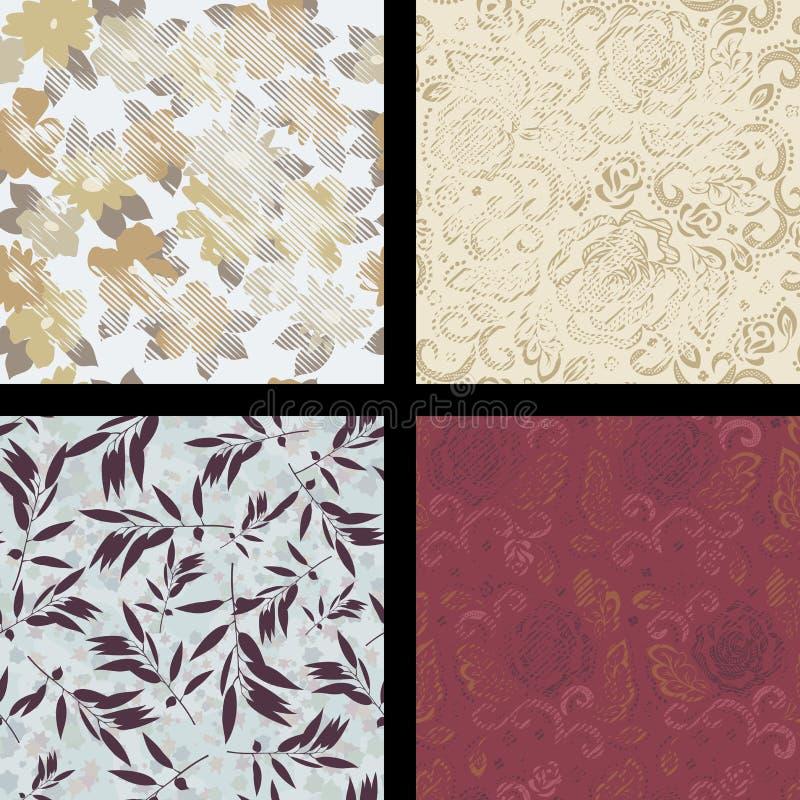 Naadloos abstract patroon stock fotografie
