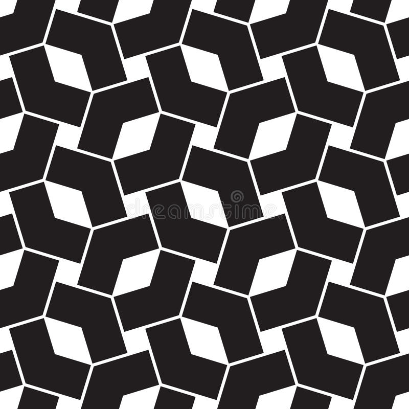 Naadloos abstract patroon vector illustratie