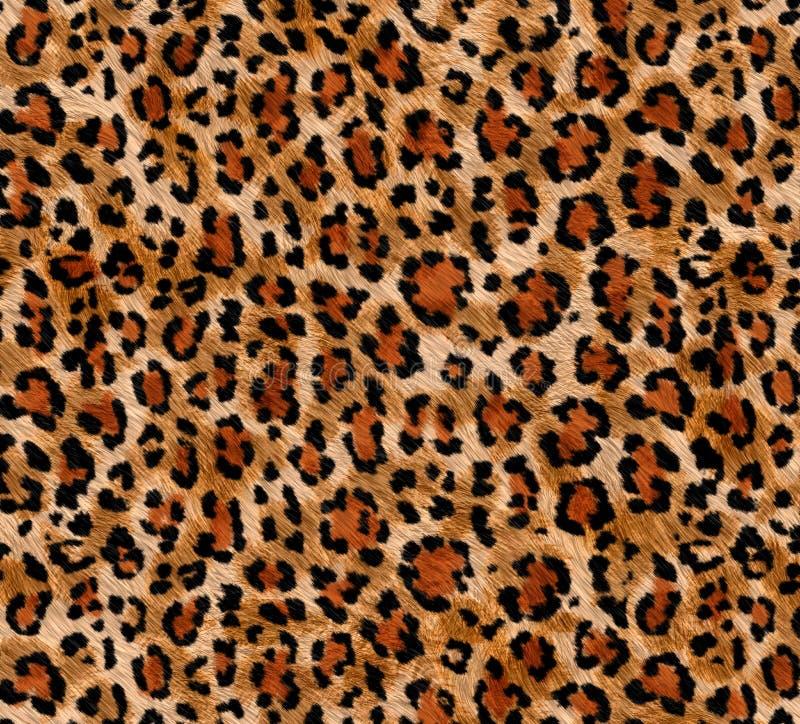 Naadloos abstract patroon op een textuur van de huidluipaard, slang royalty-vrije stock foto