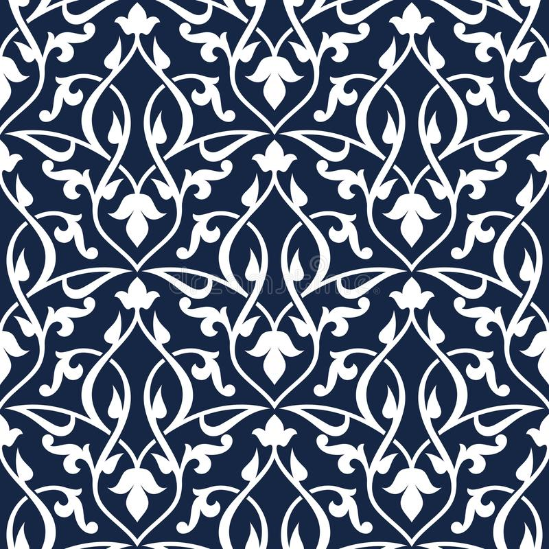 Naadloos Arabisch Patroon royalty-vrije illustratie