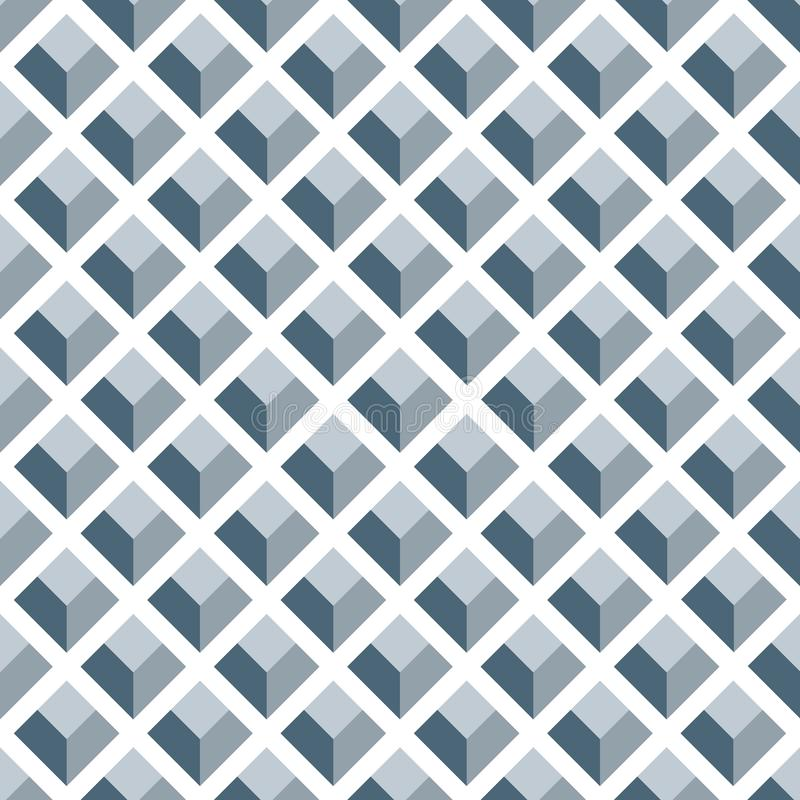 Naadloos Art Deco Pattern Texture Background-Behang stock illustratie