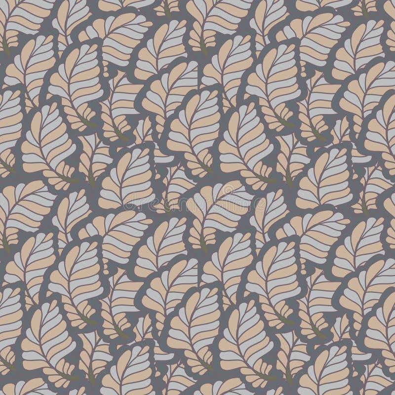 Naadloos bloemen abstract patroon stock fotografie