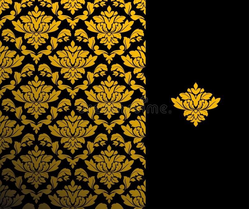 Naadloos bloemenpatroon royalty-vrije illustratie