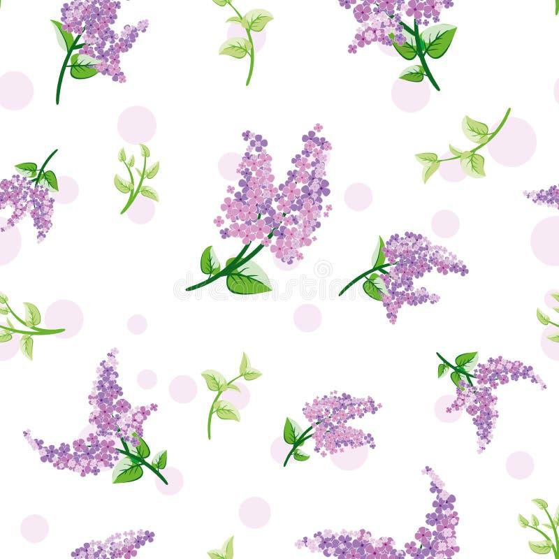 Naadloos bloemenpatroon in vector stock afbeeldingen